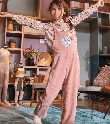 Patron de couture grauit - Salopette pour Enfant - Tailles du 2 ans au 14 ans