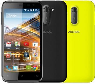 """Sélection de smartphones reconditionnés Archos en promotion - Ex : Smartphone 5"""" 50C Neon 3G/H+ (Double Sim, Android 4.4, Quad Core, 8 Go)"""