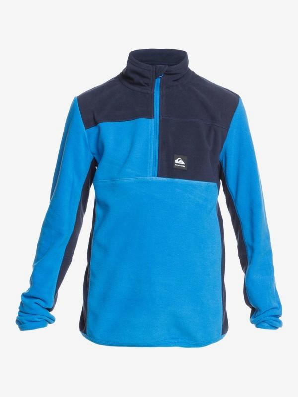 Veste polaire demi-zippée pour enfant Quiksilver Aker - bleu (tailles 8, 14 ou 16 ans)