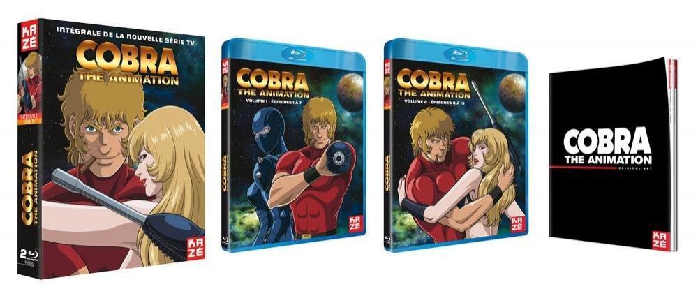 Coffrets Blu-ray Cobra The Animation - Intégrale de la nouvelle série TV