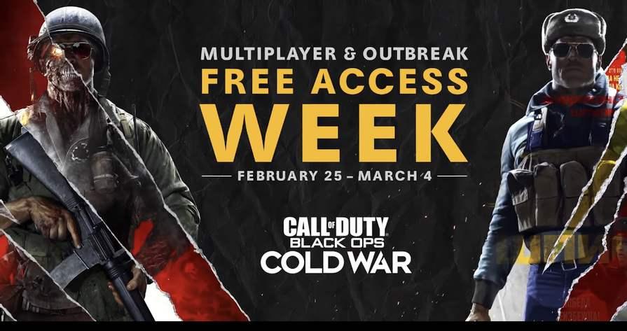 Mode multijoueur et Outbreak de Call of Duty Black Ops Cold War jouable gratuitement sur PS4, Xbox One et PC (Dématérialisé)