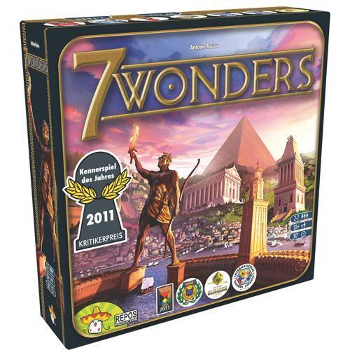 Jeu de stratégie Asmodee - 7 Wonders