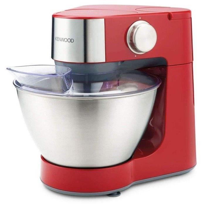 Robot de cuisine Kenwood Prospero KM280RD - 4.3 L, 900 W, bol en acier inox, rouge