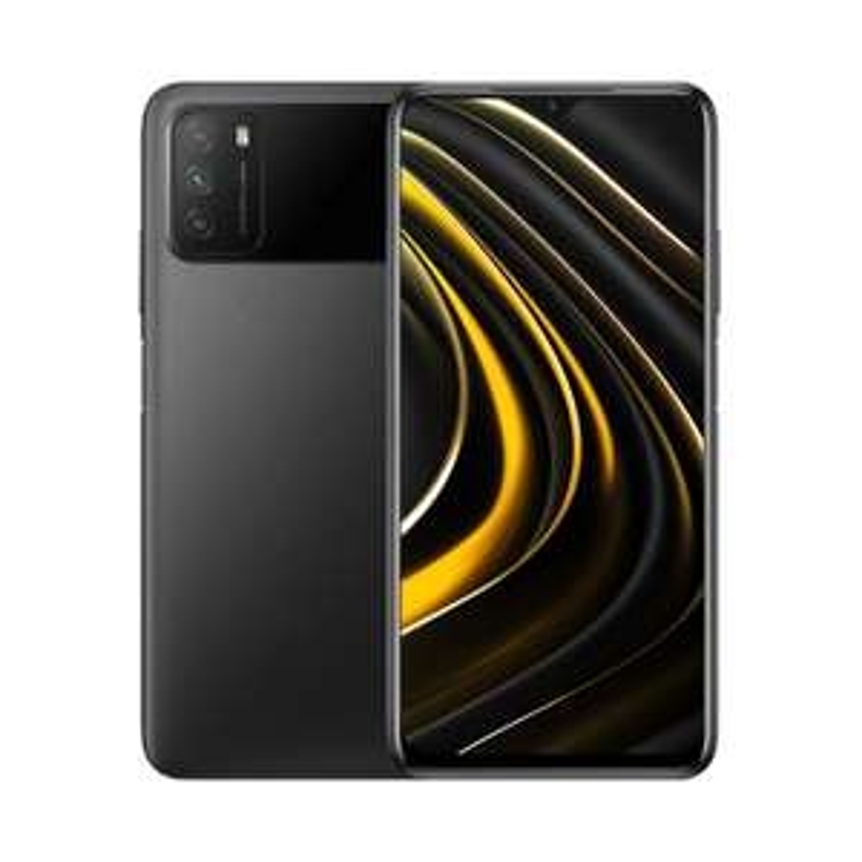 "Smartphone 6.53"" Xiaomi Poco M3 - full HD+, SnapDragon 662, 4 Go de RAM, 64 Go, bleu ou noir (entrepôt France)"