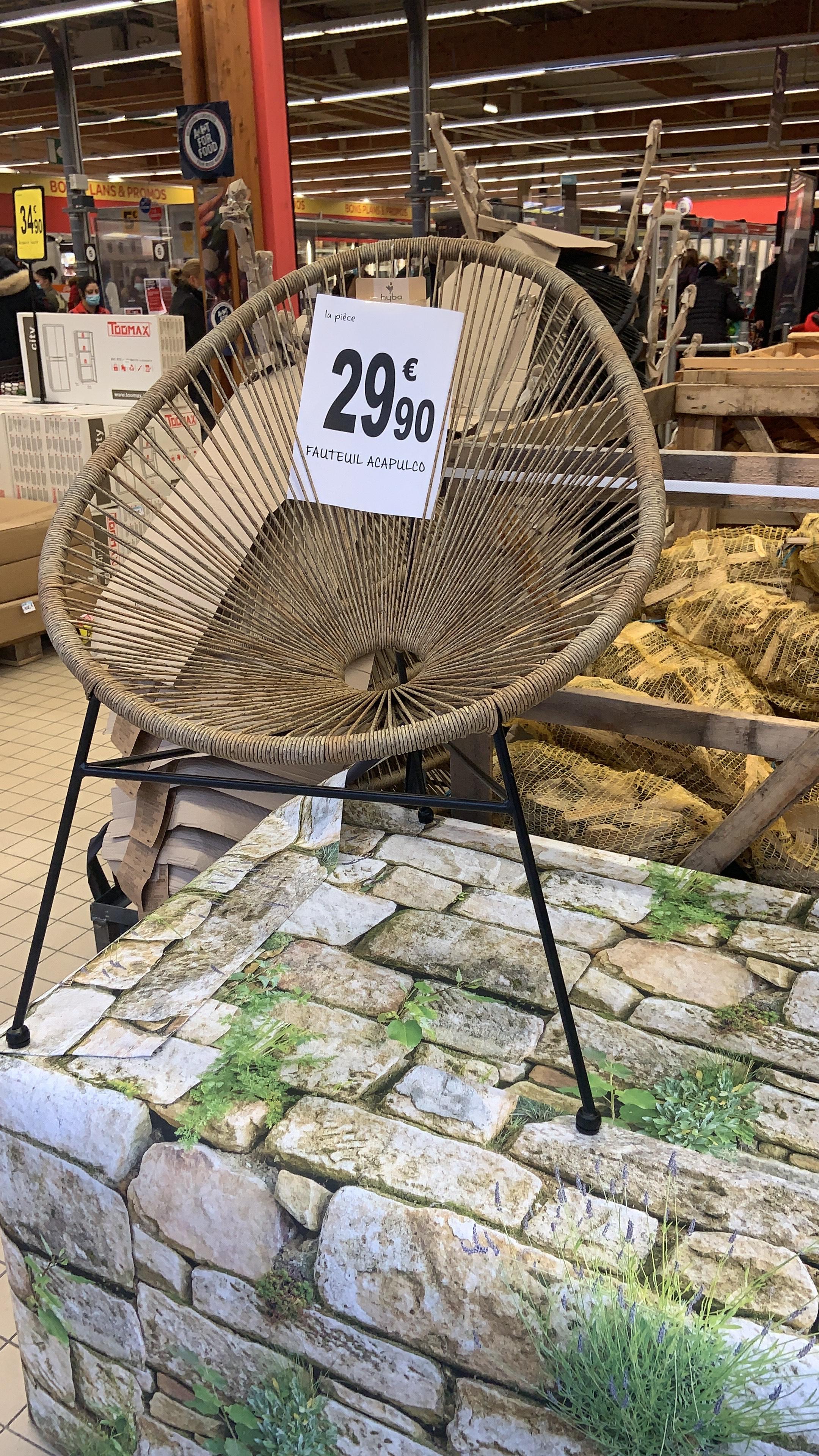 Chaise de jardin Acapulco - Vernouillet (78)