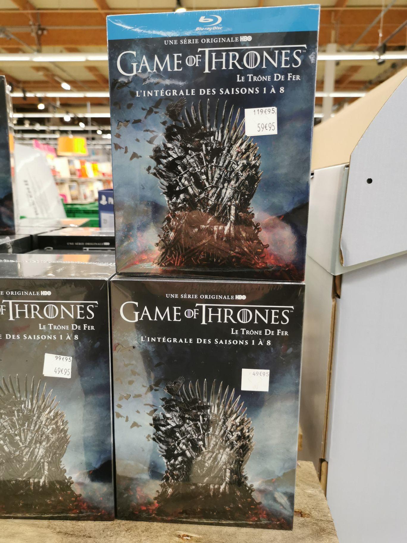 Coffret DVD Game of Thrones (Le Trône De Fer) - L'intégrale des saisons 1 à 8 (Mondeville 14)