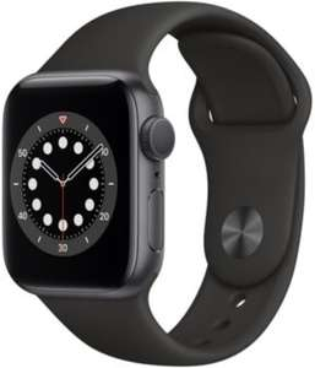 Montre connectée Apple Watch Series 6 GPS - 40 mm, bracelet Sport, gris sidéral (+ 10.47€ en Rakuten Points)