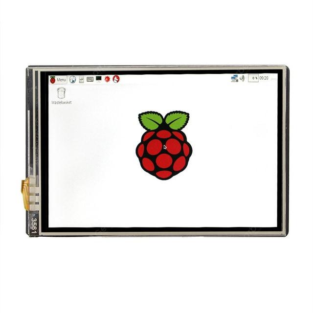 """Écran tactile 3.5"""" TFT pour Raspberry Pi 3B / 3B+ / 4B / Zero W"""