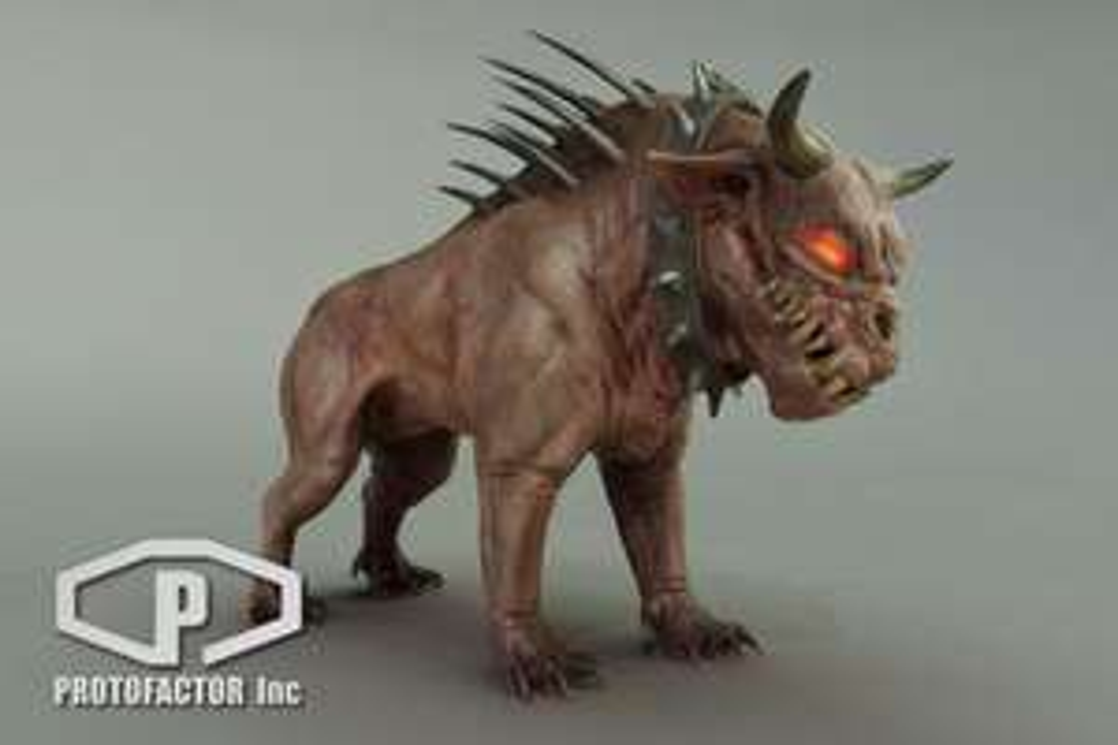 Asset Demon Dog gratuit pour Unity 3D (dématérialisé) - assetstore.Unity.com