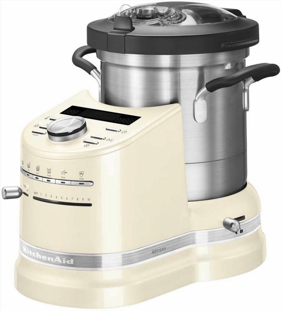 Robot cuiseur KitchenAid Artisan Cook Processor (1500 W, coloris blanc crème) - Ramershoven.com