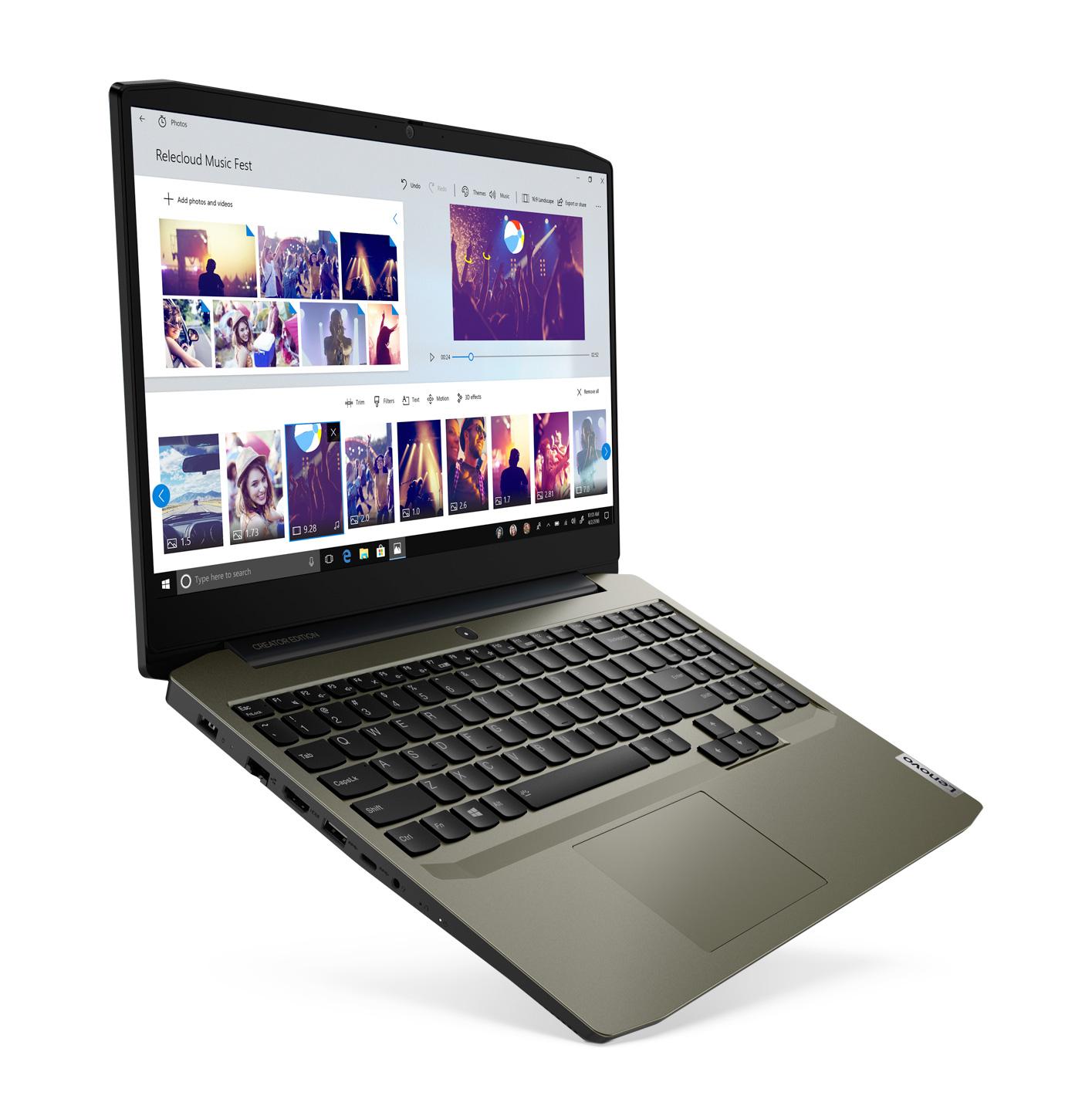 "[Étudiants] PC portable 15.6"" full HD Lenovo IdeaPad Creator 5i - i5-10300H, GTX-1650 (4 Go), 16 Go de RAM, 256 Go en SSD, Windows 10"
