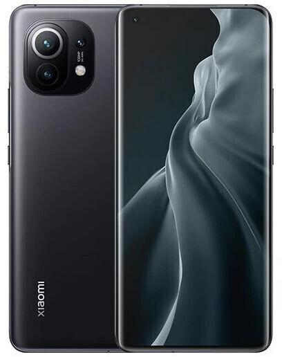 "Smartphone 6.81"" Xiaomi Mi 11 5G - WQHD+, SnapDragon 888, 8 Go de RAM, 128 Go, noir (version CN)"