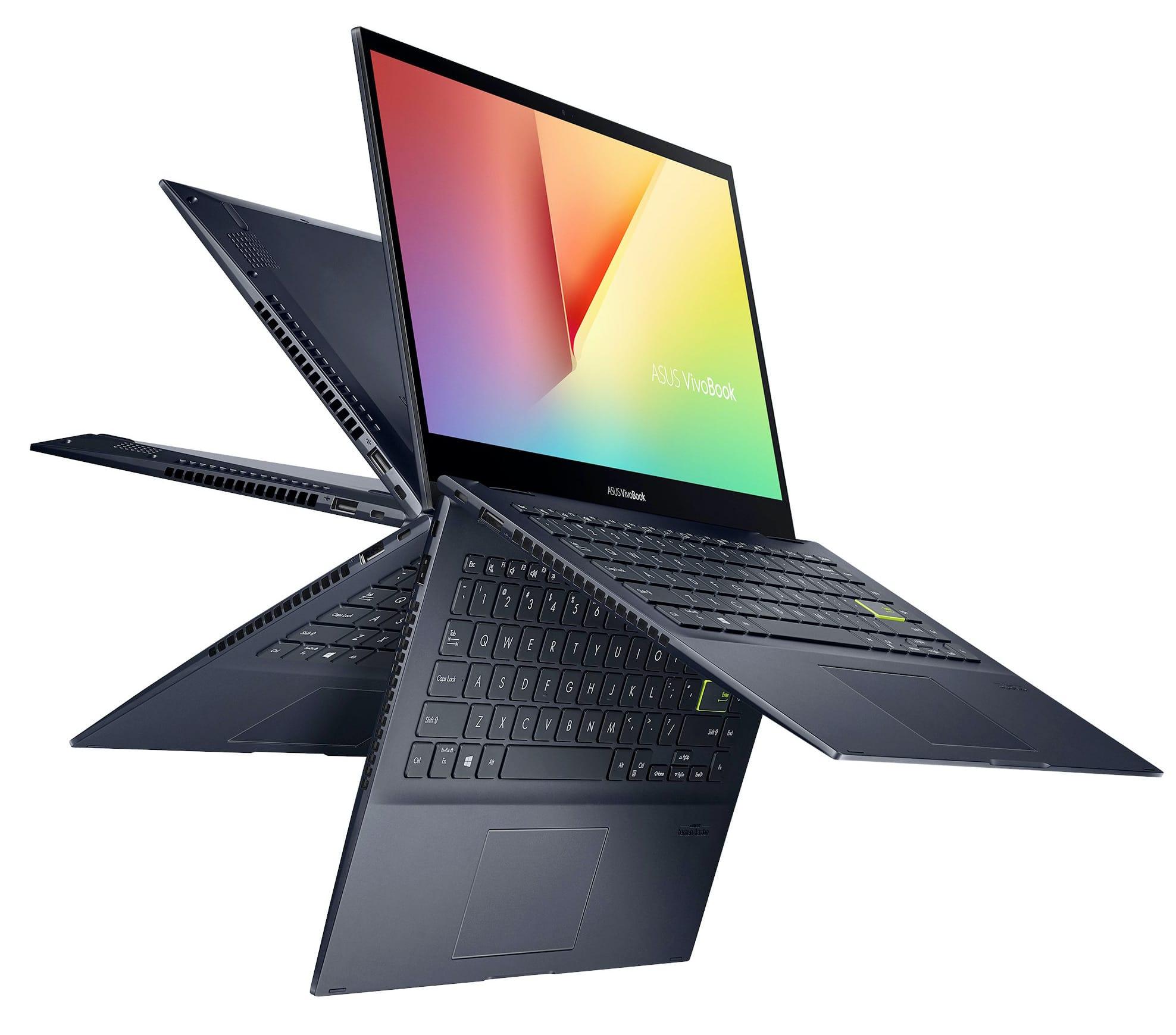 "PC Portable 14"" Asus Vivobook Flip 14 TM420IA - Ryzen 3 4300U, 8 Go de RAM, 256 Go SSD"
