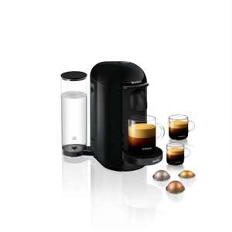 Machine à capsule Nespresso Krups Vertuo Plus - YY4317FD - Noir