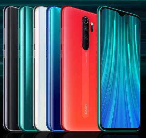 """Smartphone 6.53"""" Xiaomi Redmi Note 8 Pro - Full HD+, Helio G90T, 6 Go RAM, 64 Go Orange Corail (Via l'application)"""