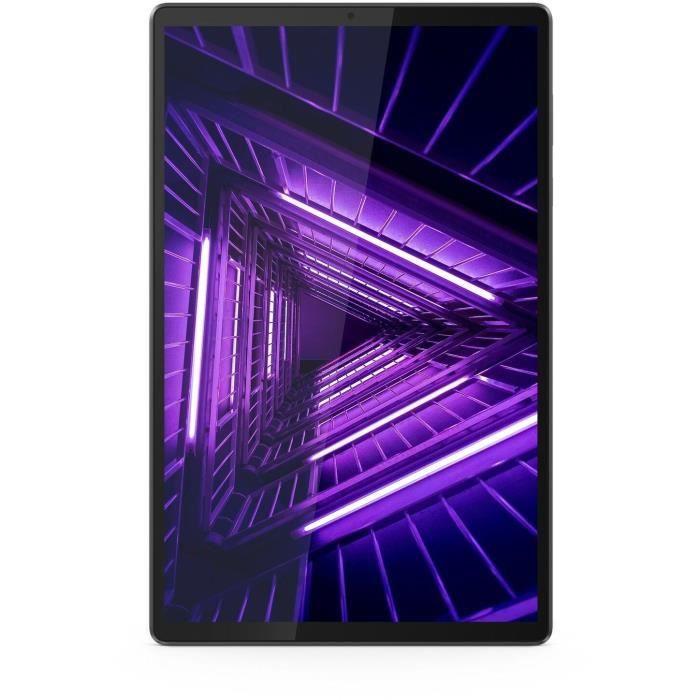 Tablette tactile 10.3'' Lenovo Tab M10 - Full HD, 4 Go RAM, 128 Go SSD, Wifi + 4G