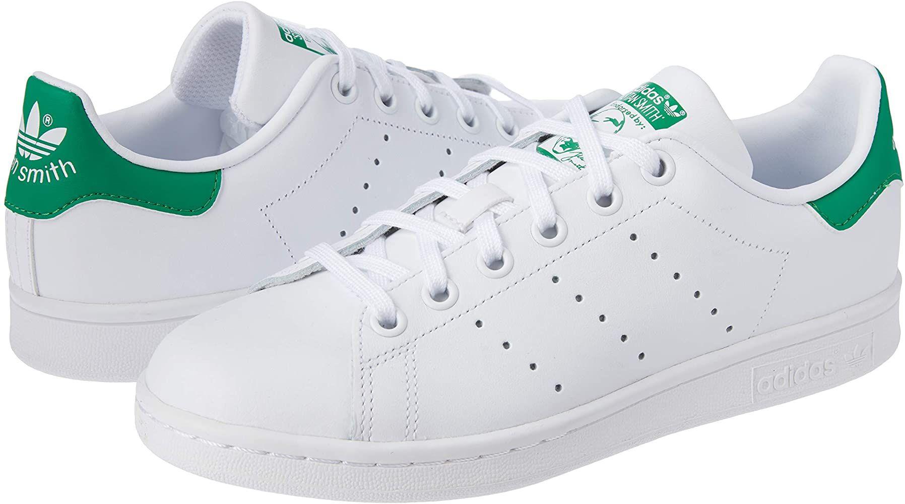 Baskets adidas Originals Stan Smith J pour Enfants - Plusieurs Tailles (Dès 30€)