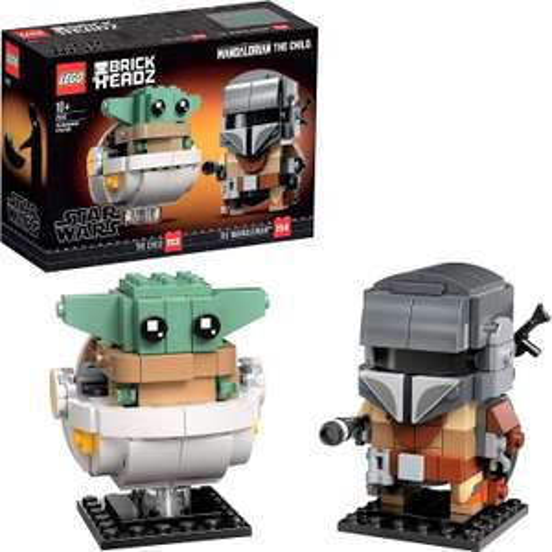 Lego BrickHeadz Star Wars - Le Mandalorien et l'Enfant (75317)
