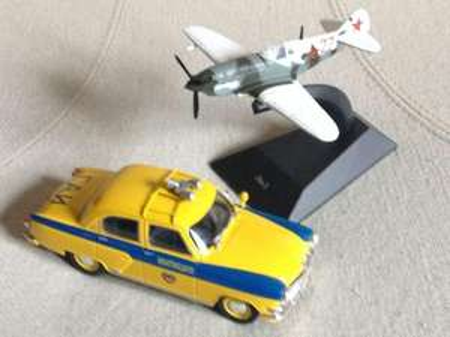 Différentes Miniatures (automobiles 1/24, avions...)
