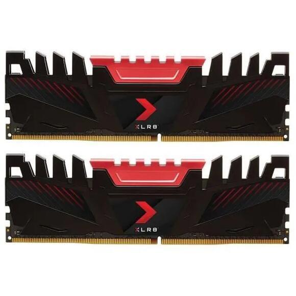 Kit Mémoire RAM DDR4 PNY XLR8 - 16 Go (2 x 8 Go), 3200 MHz, CAS 16