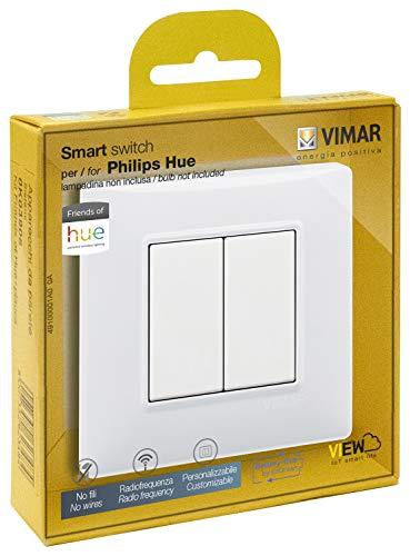 Interrupteur connecté Vimor Plana 0K03906.04 - Compatible Hue (Zigbee)