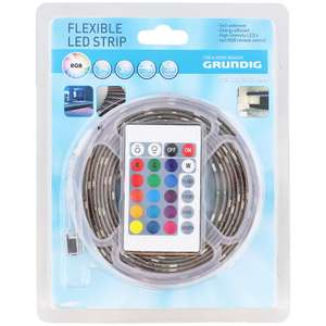 Ruban LED multicolore Grundig - 3M
