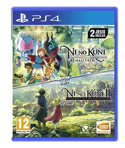 Bundle Ni No Kuni I : La Vengeance de la sorcière céleste Resmatered + Ni No Kuni II : La Vengeance de la sorcière céleste sur PS4