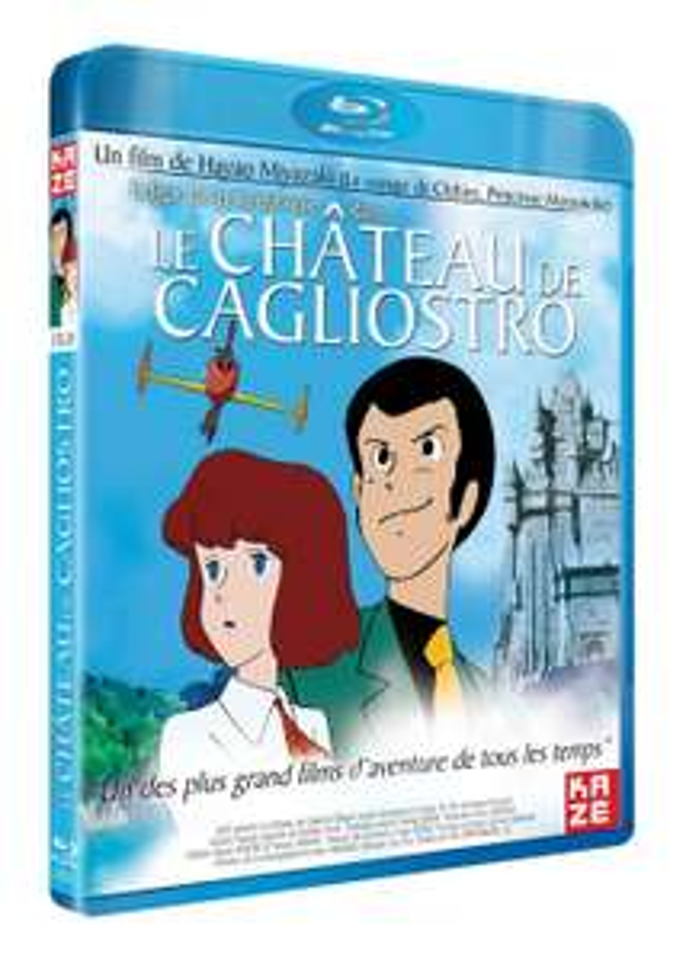 Blu-ray : Le château de Cagliostro d'Hayao Miyazaki