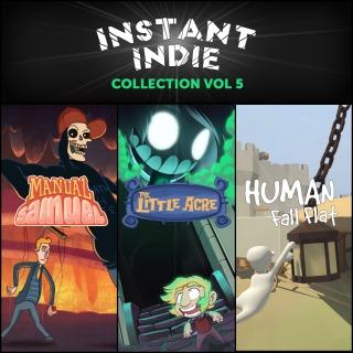 (PS+) Instant Indie Collection: Vol. 5 : Human Fall Flat, Manual Samuel et The Little Acre sur PS4 (Dématerialisé)