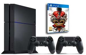 Console Sony PS4 1 To + Street Fighter V + 2ème Manette