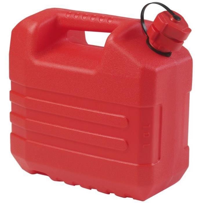 Jerrican hydrocarbure Eda - 10 L, Rouge