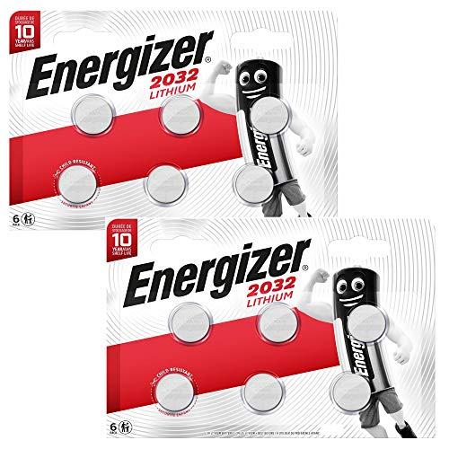 Lot 12 piles Energizer Lithium 3V CR2032 (vendeur tiers)