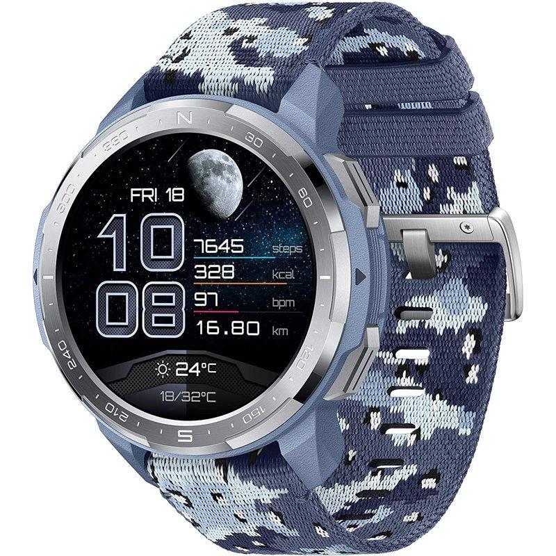 """Montre connectée 1.39"""" Honor Watch GS Pro - Bleu"""