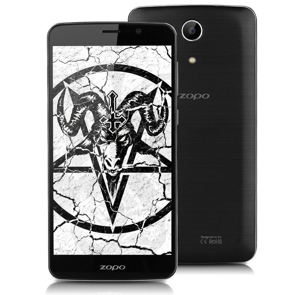 "Smartphone 5.5"" Zopo Speed 7 Plus - MT6753 Octa-Core, RAM 3 Go, ROM 16 Go, Dual SIM, Android 5.1, Noir"