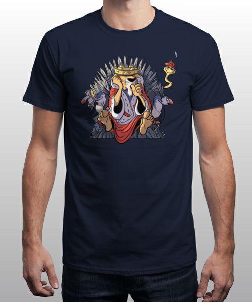 Sélection de t-shirts à 4€ - Ex: T-shirt The Real King by Fanfabio