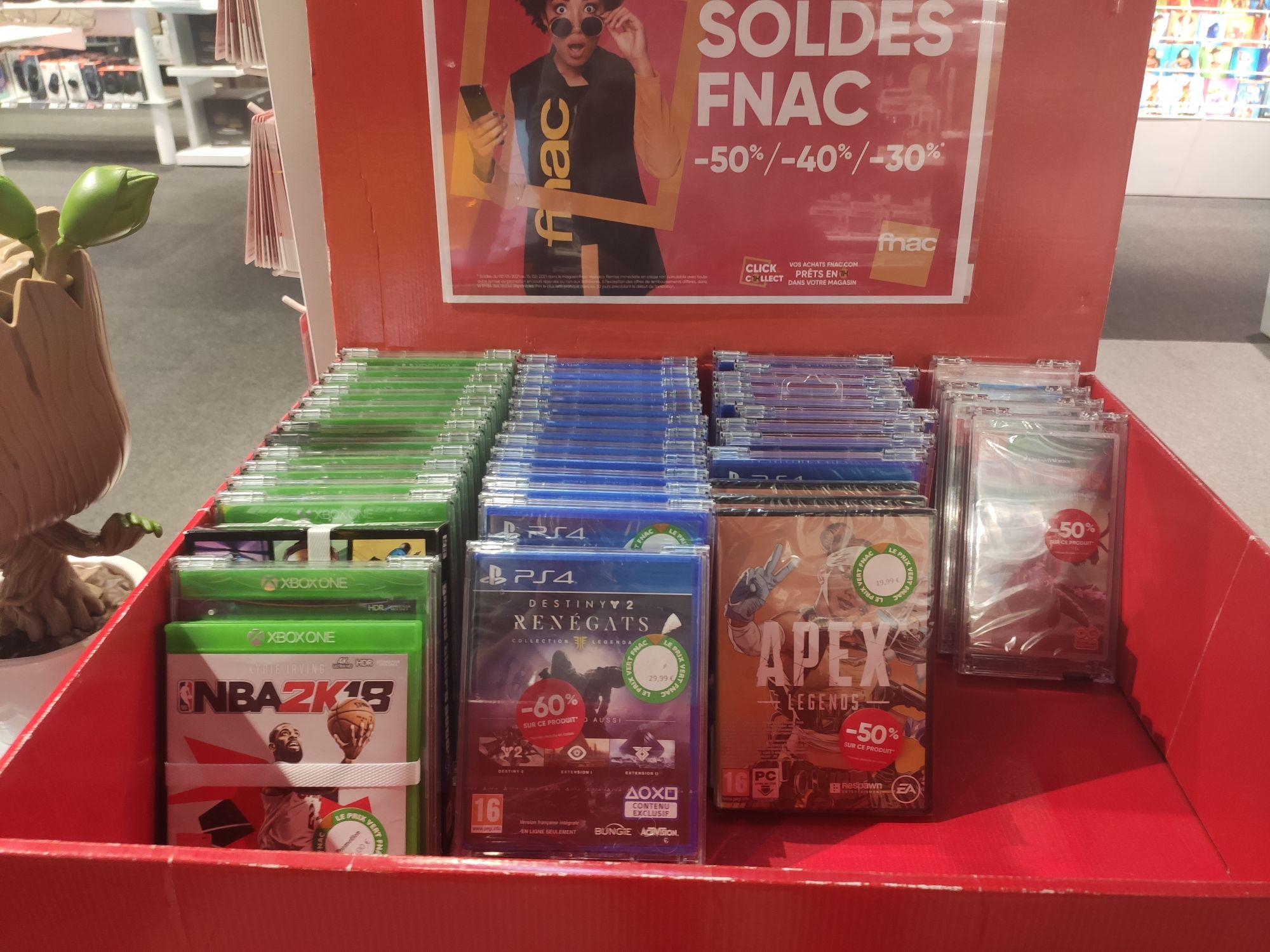 Sélection de jeux vidéo en promotion - Ex : NBA 2K18 sur Xbox One - Nogent-le-Rotrou (28)