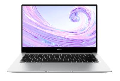 """PC Portable 14"""" Huawei MateBook D 14 2020 - i7-10510U, 16 Go de Ram, 512 Go, Argent + Bracelet Huawei Band 4"""