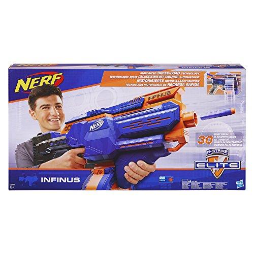 Pistolet Nerf Elite Infinus et 30 Flechettes Nerf Elite