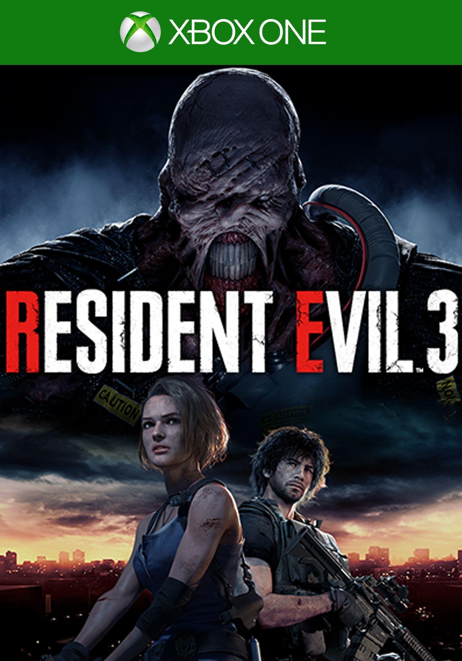 2 Jeux Resident Evil 3 sur Xbox One