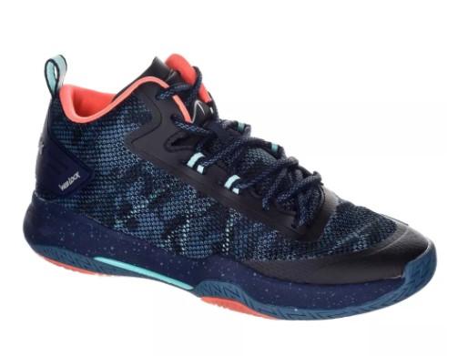 Chaussures de basketball adulte mixte joueur confirmé Tarmak SC500 - Bleu
