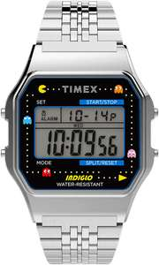Montre Timex T80 X Pac-Man 34mm Stainless S Silver