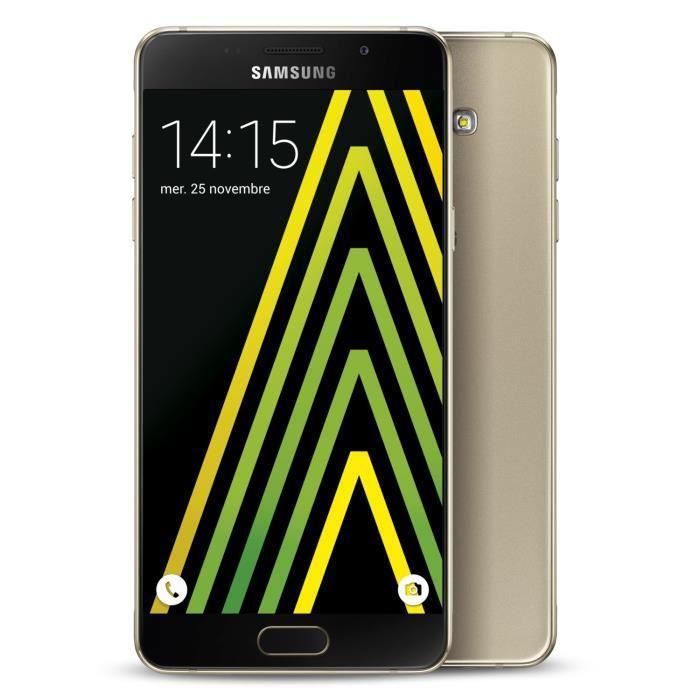 """Smartphone 5.2"""" Samsung Galaxy A5 2016 - Noir ou Or (via ODR 50€)"""