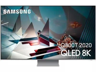 "TV QLED 65"" Samsung QE65Q800T - Full LED, 8K, 100 Hz, Quantum HDR 2000, FreeSync Premium, HDMI 2.1, Smart TV (Modèle d'exposition)"