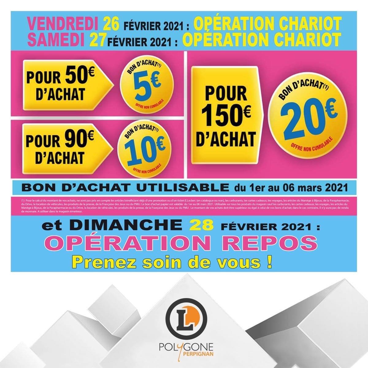 20€ en bon d'achat dès 150€ d'achats - Perpignan (66)