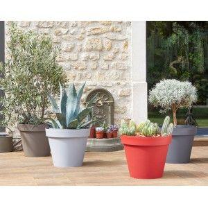 Pot EDA Toscane (43 L, coloris anthracite, béton, taupe ou rubis) - 100% remboursé (via 11.99€ en bon d'achat valable dès 30€ d'achat)
