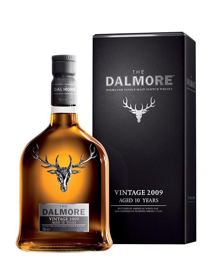 Bouteille de Whisky Dalmore 2009 - Vintage Sherry Finish (70 cl)