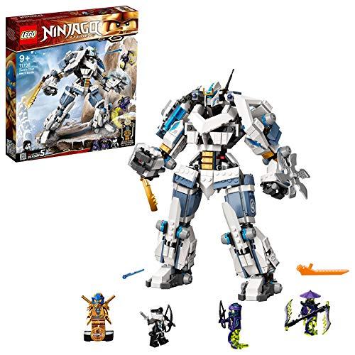 Jouet Lego Ninjago Legend (71738) - Le robot de combat Titan de Zane