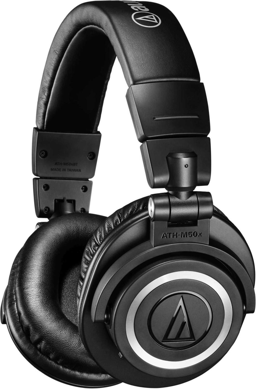 Casque audio sans-fil Audio Technica ATH-M50x - Bluetooth, noir