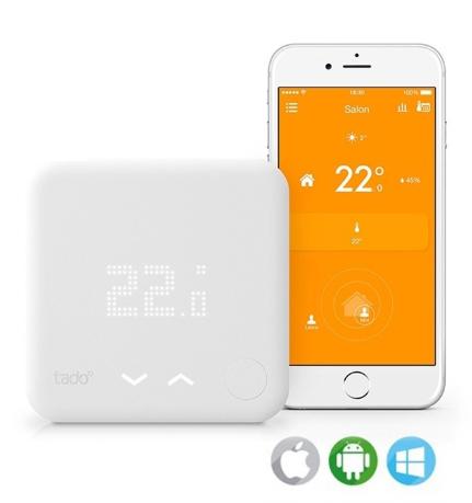 Kit de démarrage thermostat connecté Tado° V2