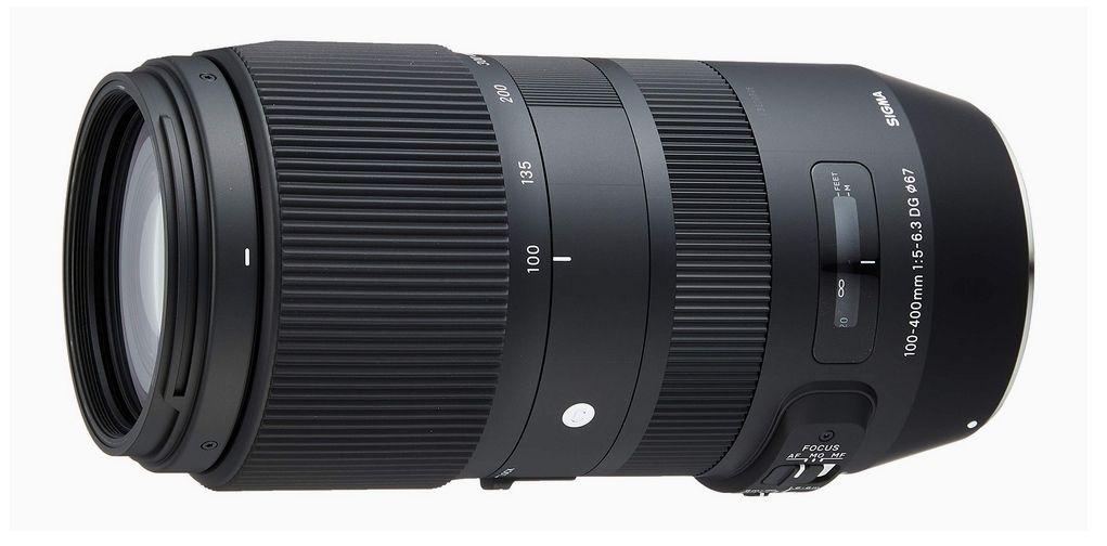 Objectif photo zoom Sigma 100-400mm F5-6.3 DG OS HSM - Monture Sigma